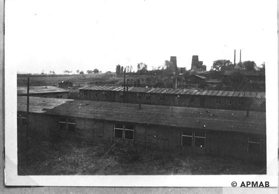 Panorama of the sub camp in 1967 APMAB 13408