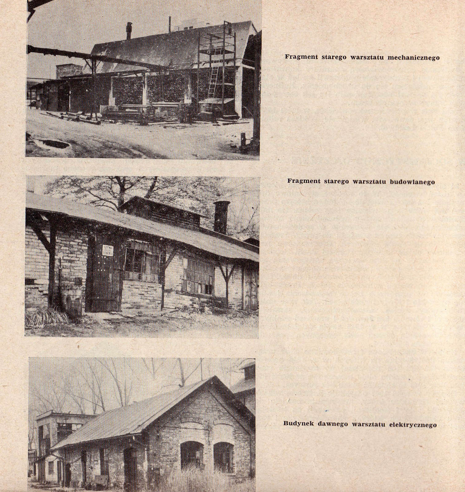 Photographs of Trzebinia refinery buildings 1964 3