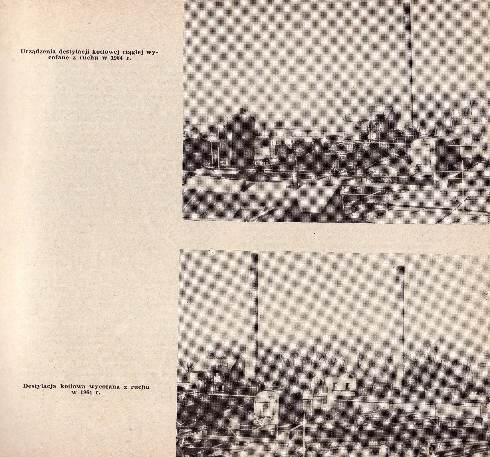 Photographs of Trzebinia refinery buildings 1964 4