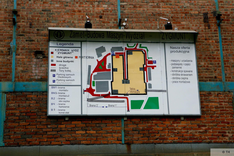 Plan of Zygmunt steel works. 2006 T4 6237