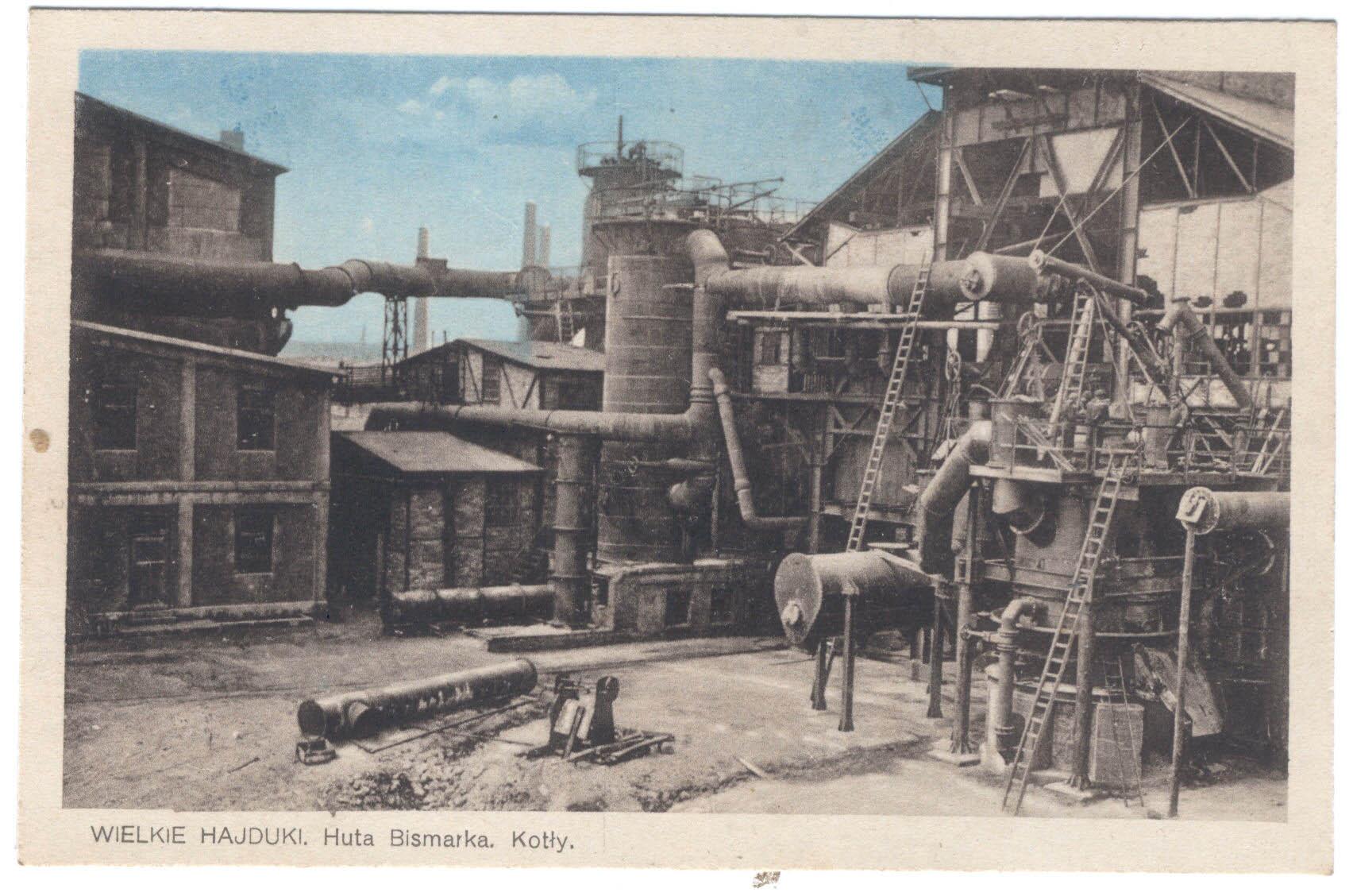 Postcard Bismarckhütte 2