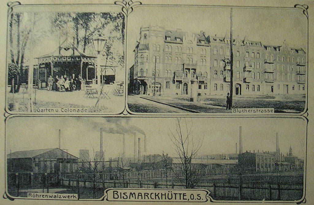 Postcard Bismarckhütte 6