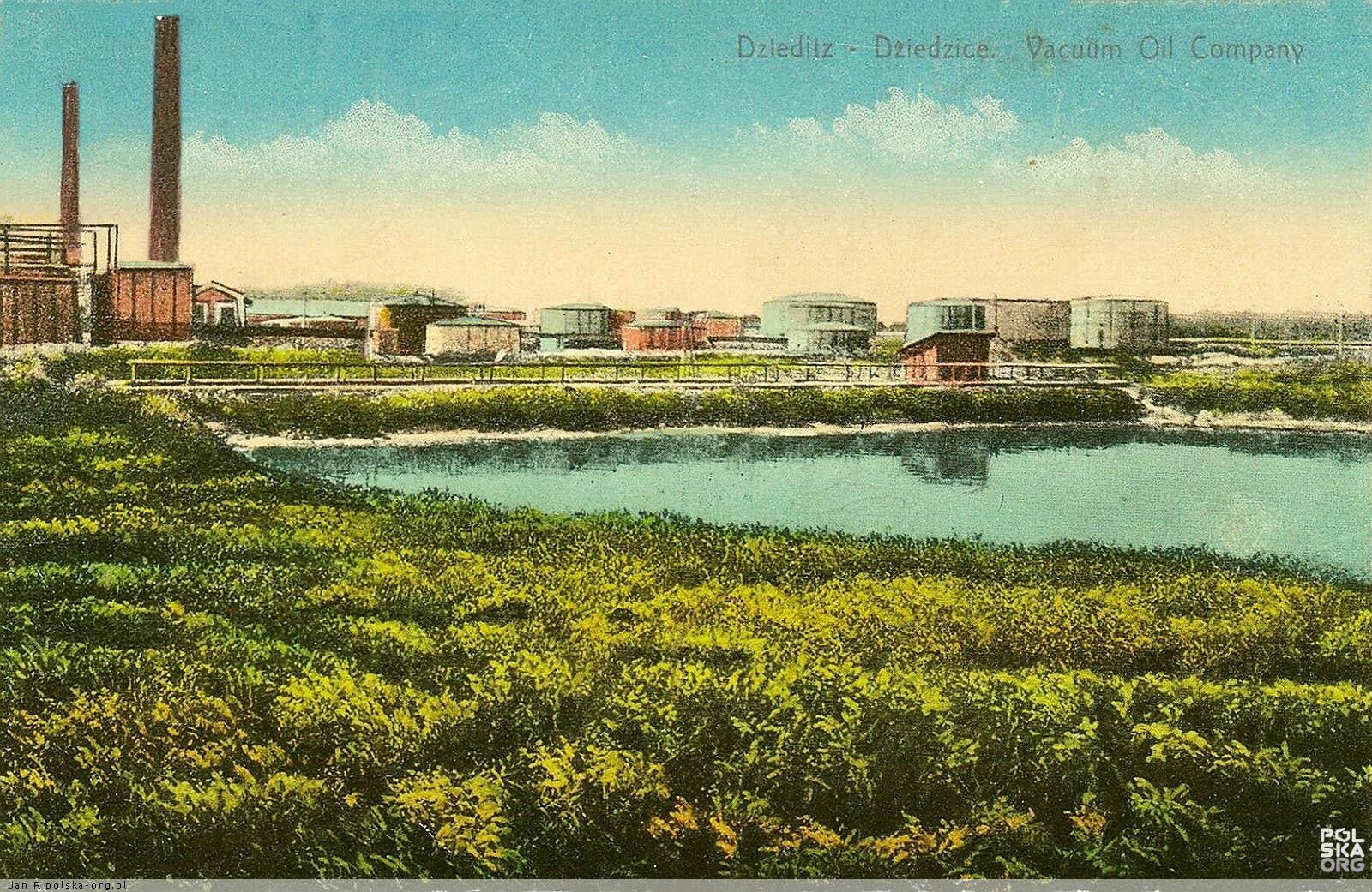 Postcard of Vaccum Oil Company 2