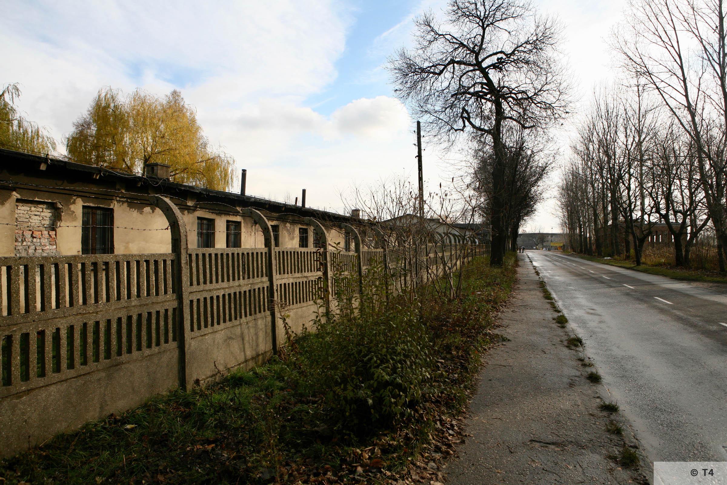Prisoner barracks from Hindenburg sub camp. 2007 T4 4091