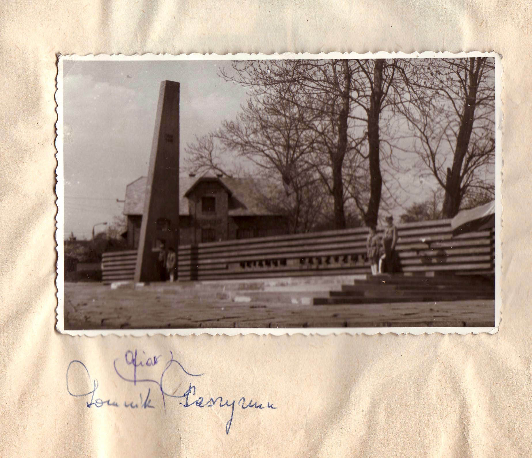 Probably the opening of the memorial in Trzebinia in 1970 3