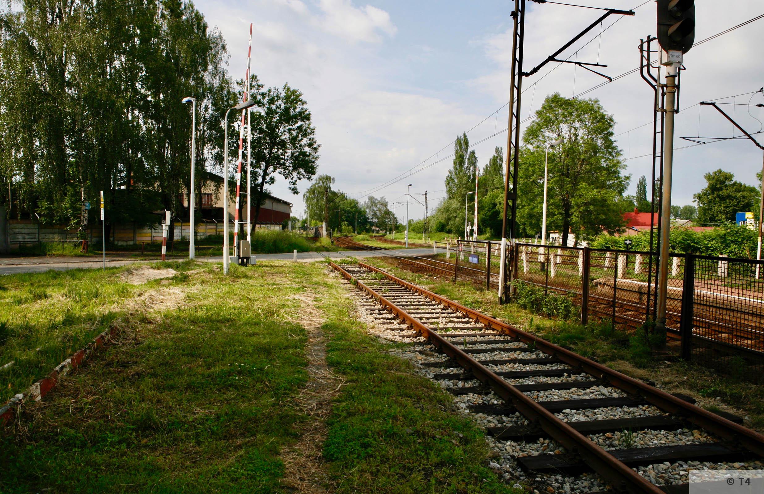 Rail tracks near the former sub camp. 2006 T4 6666