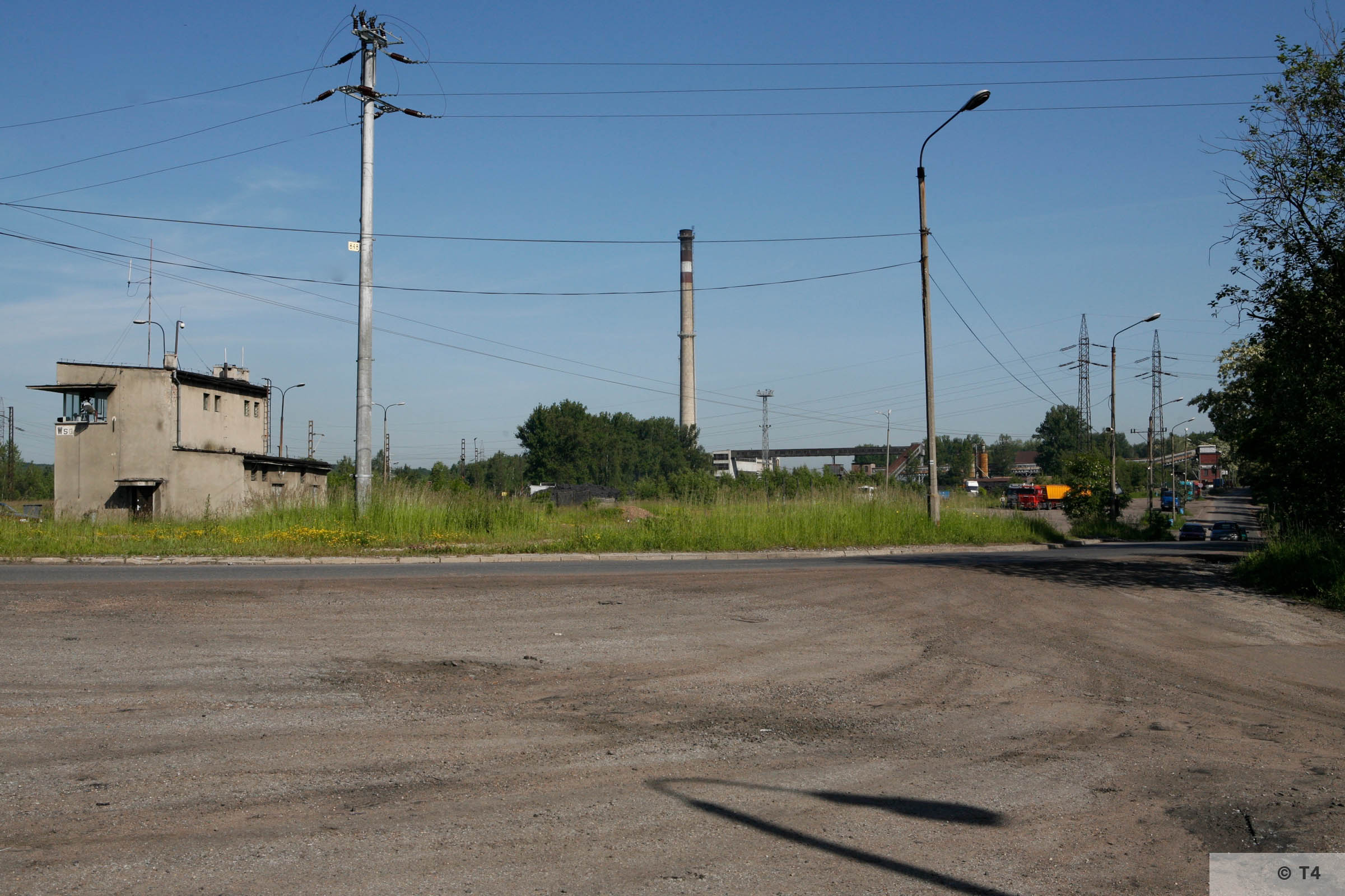 Railway junction and Wesola mine. 2006 T4 6836