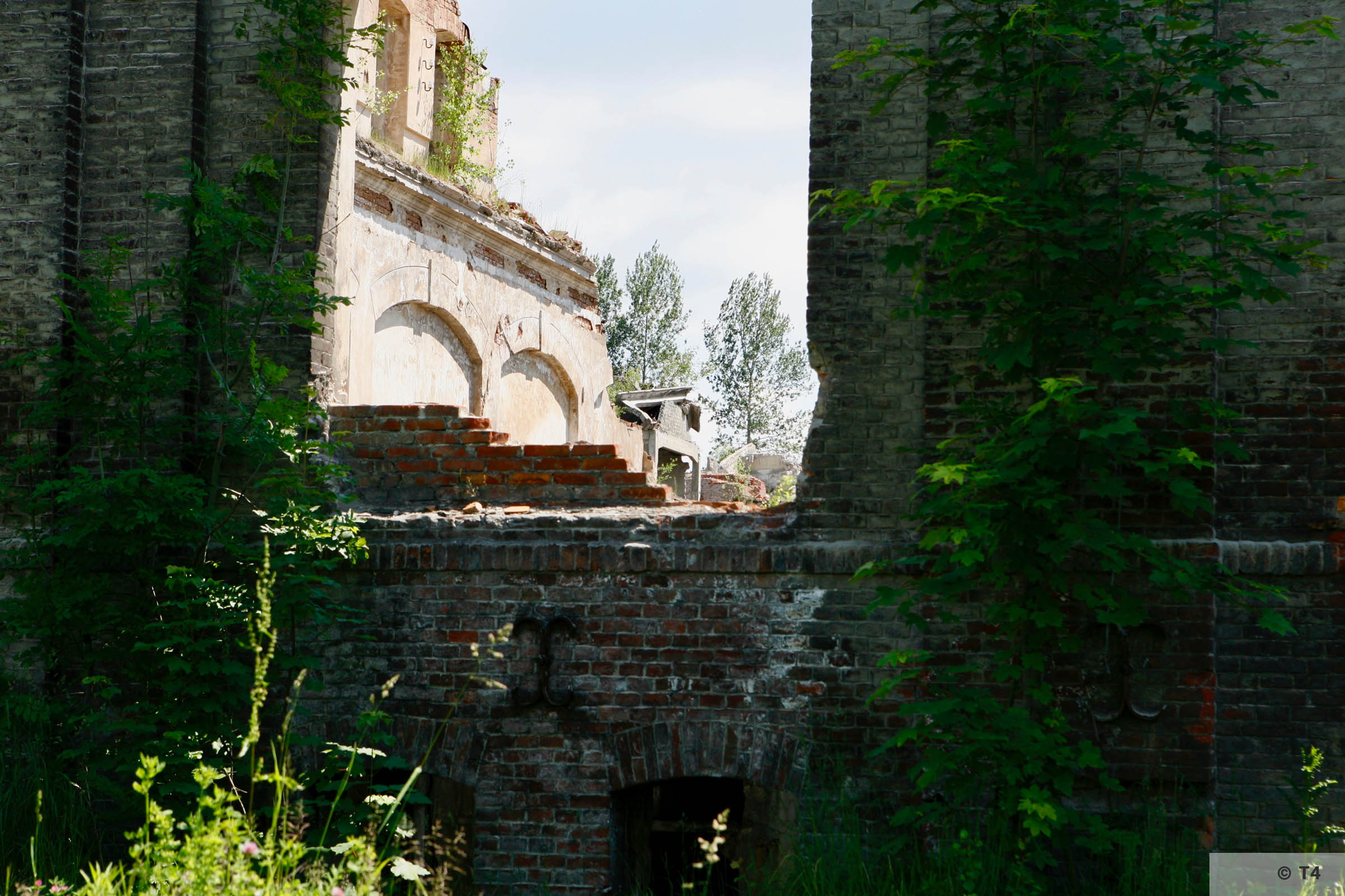 Remnants of Goleszow cement factory. 2006 T4 6614