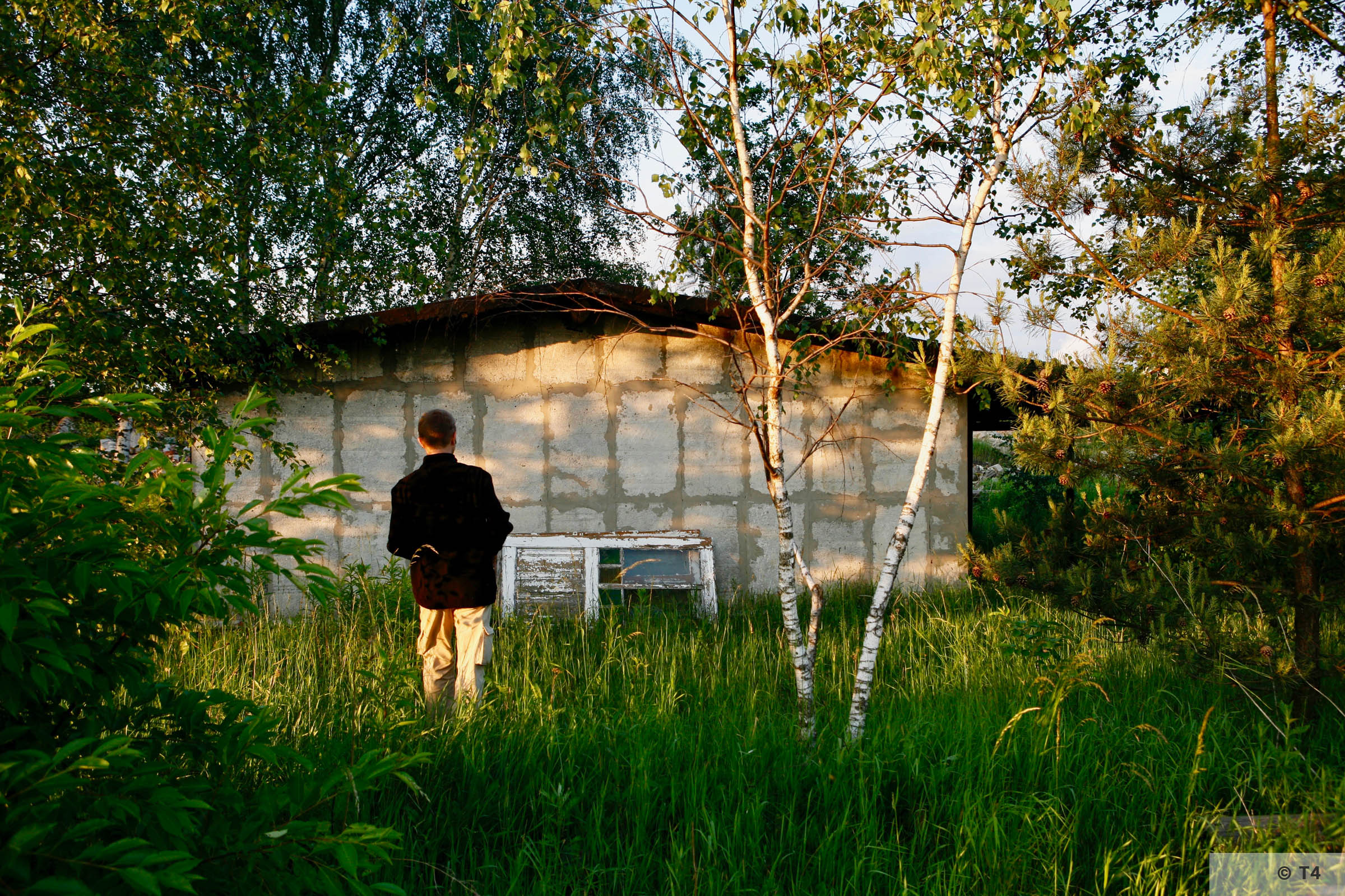 Remnants of camp near Jaworzno power station. 2007 T4 6447