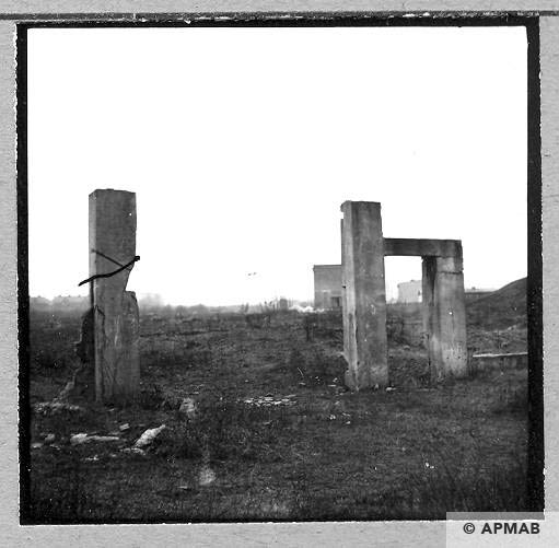 Ruins of main gate. 1959 APMAB 4417
