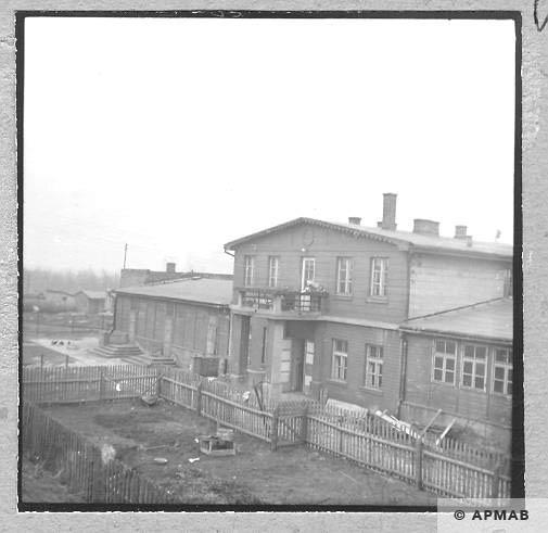 SS Truppe barrack. 1959 APMAB 6474