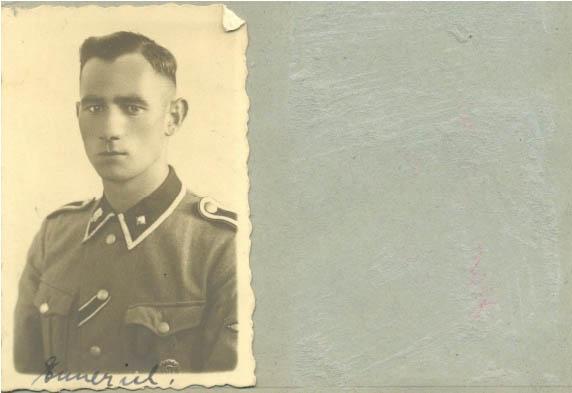 SS man from Bata photo files. Tomasz Batta Memorial House
