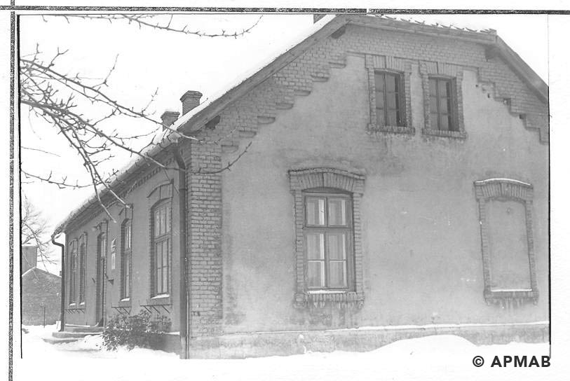 School building in Brzeszce Bor for female penal company. 1968 APMAB 14053