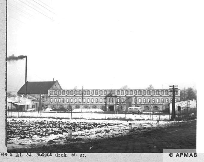 Siemens Schuckert factory in Bobrek where prisoners worked 1966 APMAB .10170