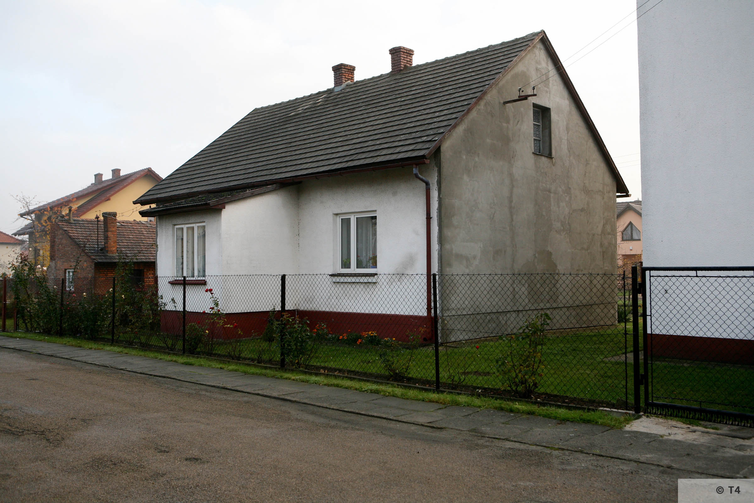 So called white house. Former accomodation of the Aufseherinnen. T4 2920