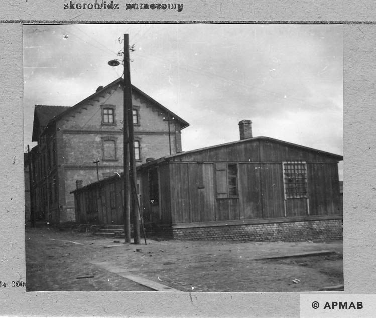 Sub camp guardhouse barrack. 1959 APMAB 4387