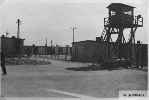 The sub camp general view. APMAB Yad Vashem 13402