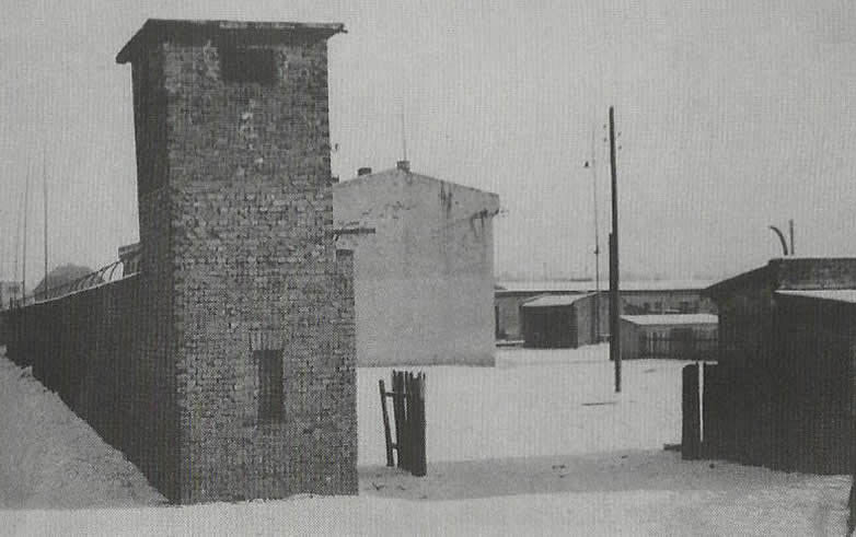 This is the front entrance of Lager Sud . The photo was tkaen after the war