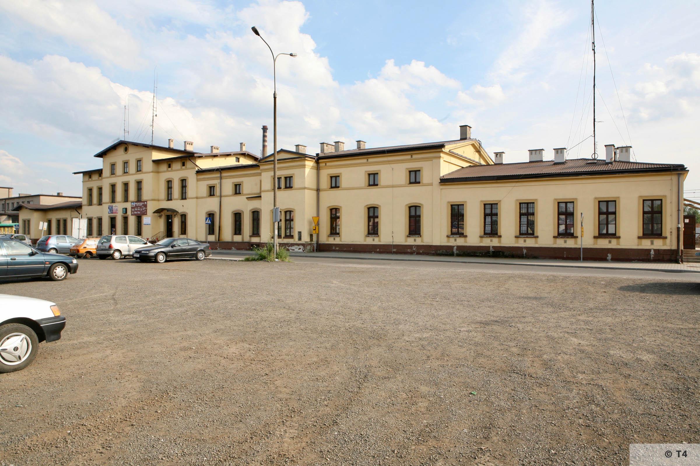 Trzebinia railway station. 2007 T4 4723