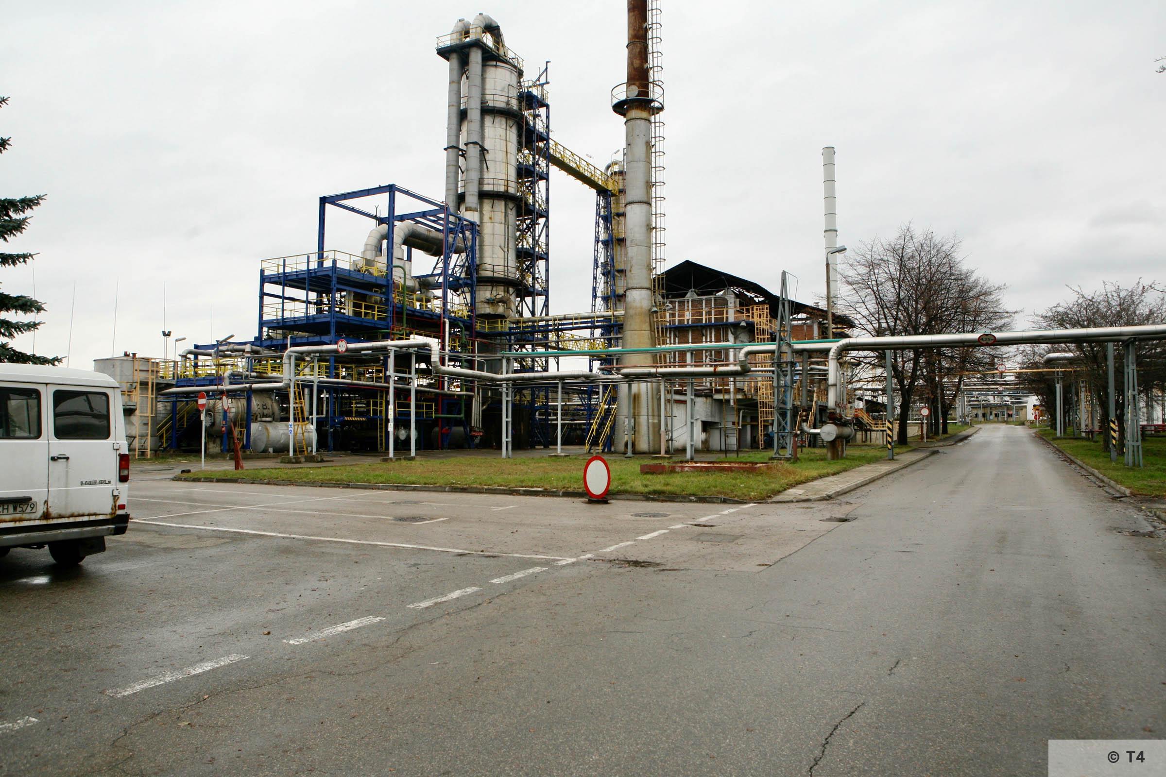 Trzebinia refinery. 2007 T4 4037