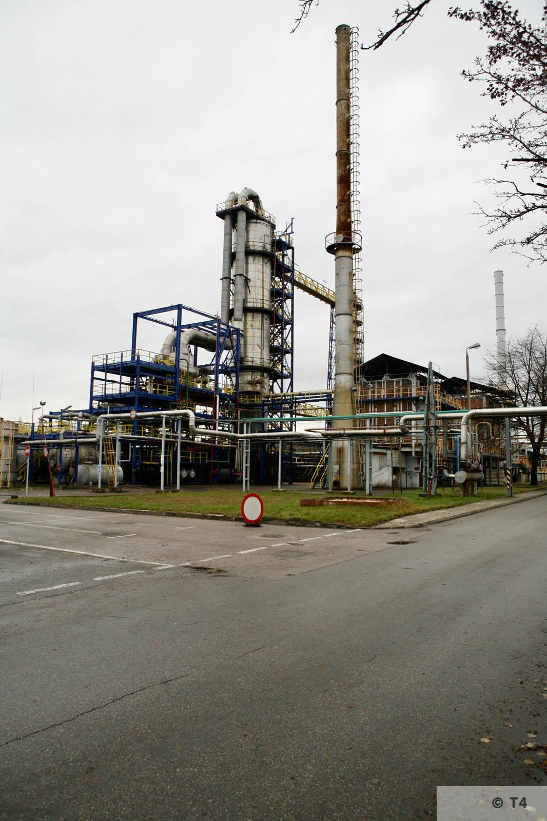 Trzebinia refinery. 2007 T4 4041