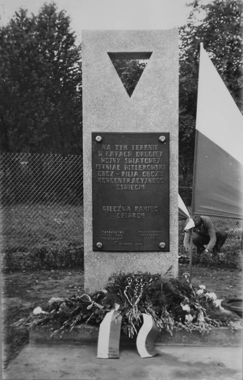 Unveliing of memorial to Gleiwitz II sub camp. 1979 5361