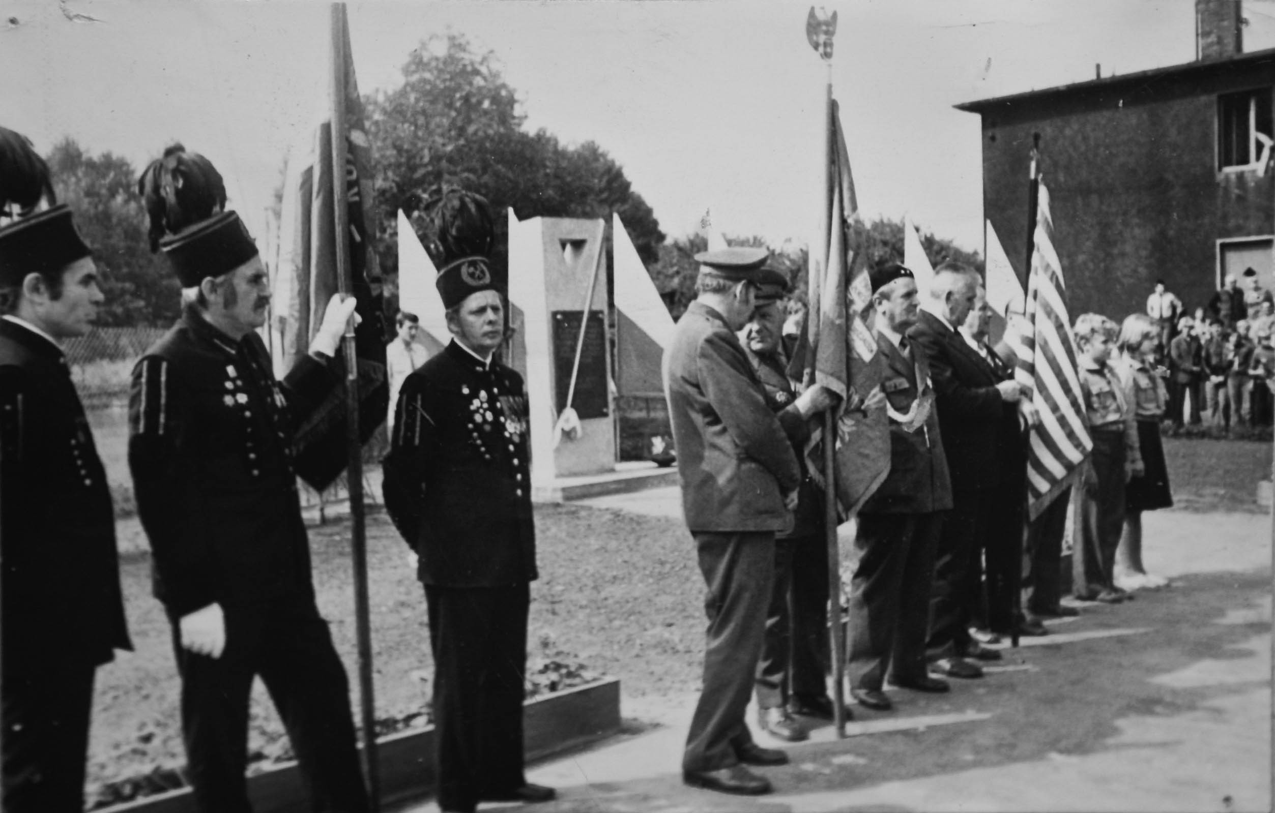 Unveliing of memorial to Gleiwitz II sub camp.1979 5357
