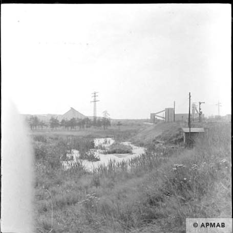 View of Wesola coal mine. 1963 APMAB 5699