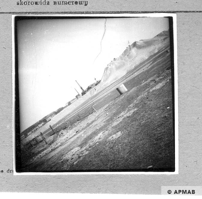 View of the Janina from the camp. 1959 APMAB 6117