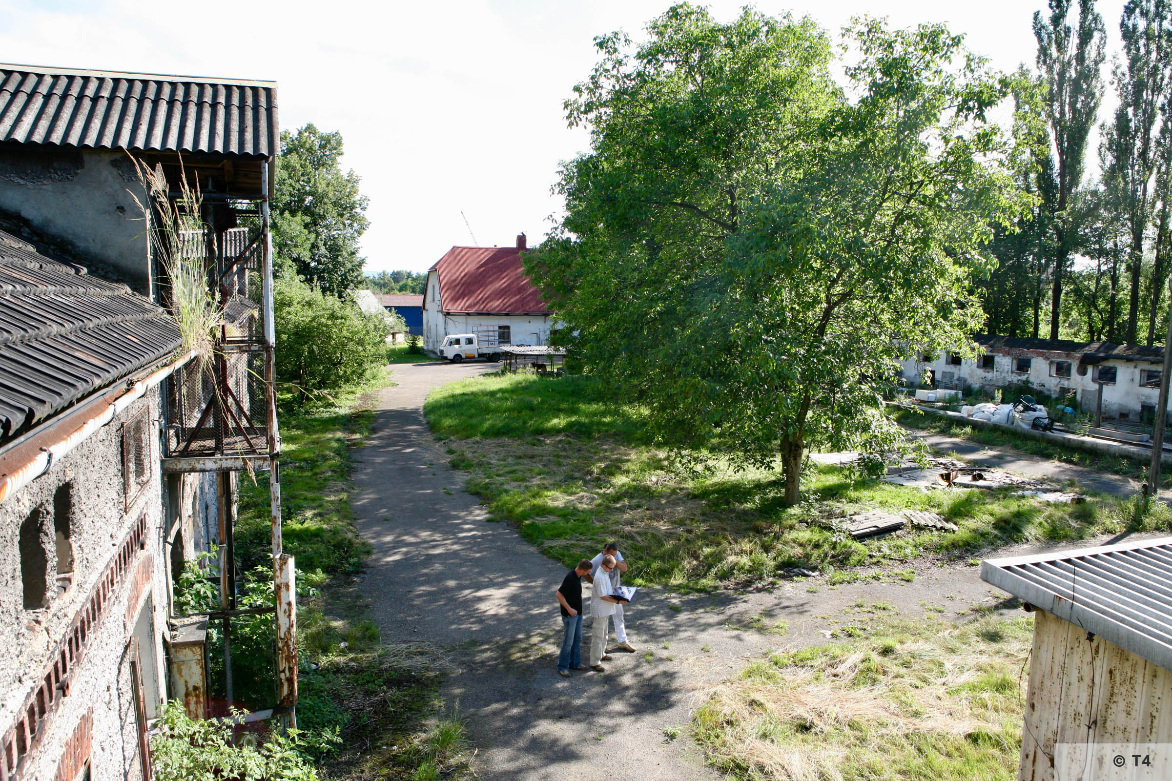 View of the area of the former sub camp. 2007 T4 9340