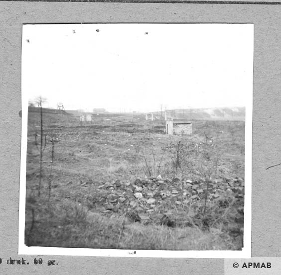 View of the camp from North West. 1959 APMAB 4408