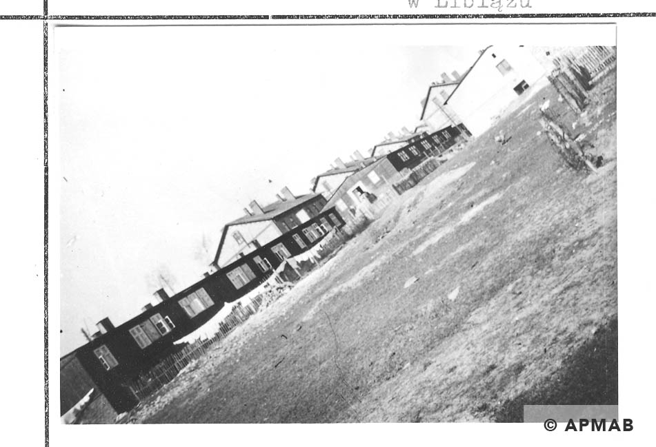 View of the camp from the South East. 1959 APMAB 22270 1