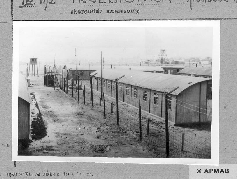 View of the camp from the south. APMAB 6675