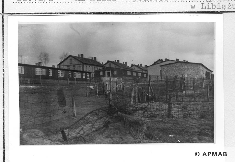 View of the sub camp from the East. 1959 APMAB 22270 6