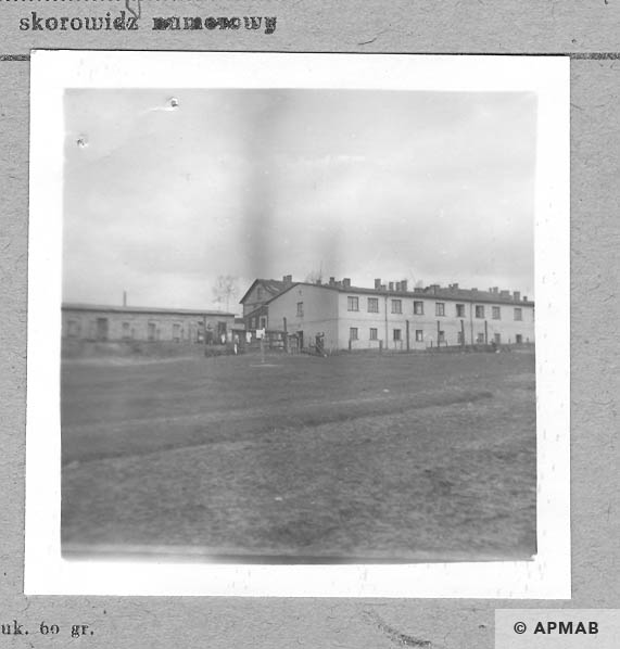 View on the North part of the camp. 1959 APMAB 6116