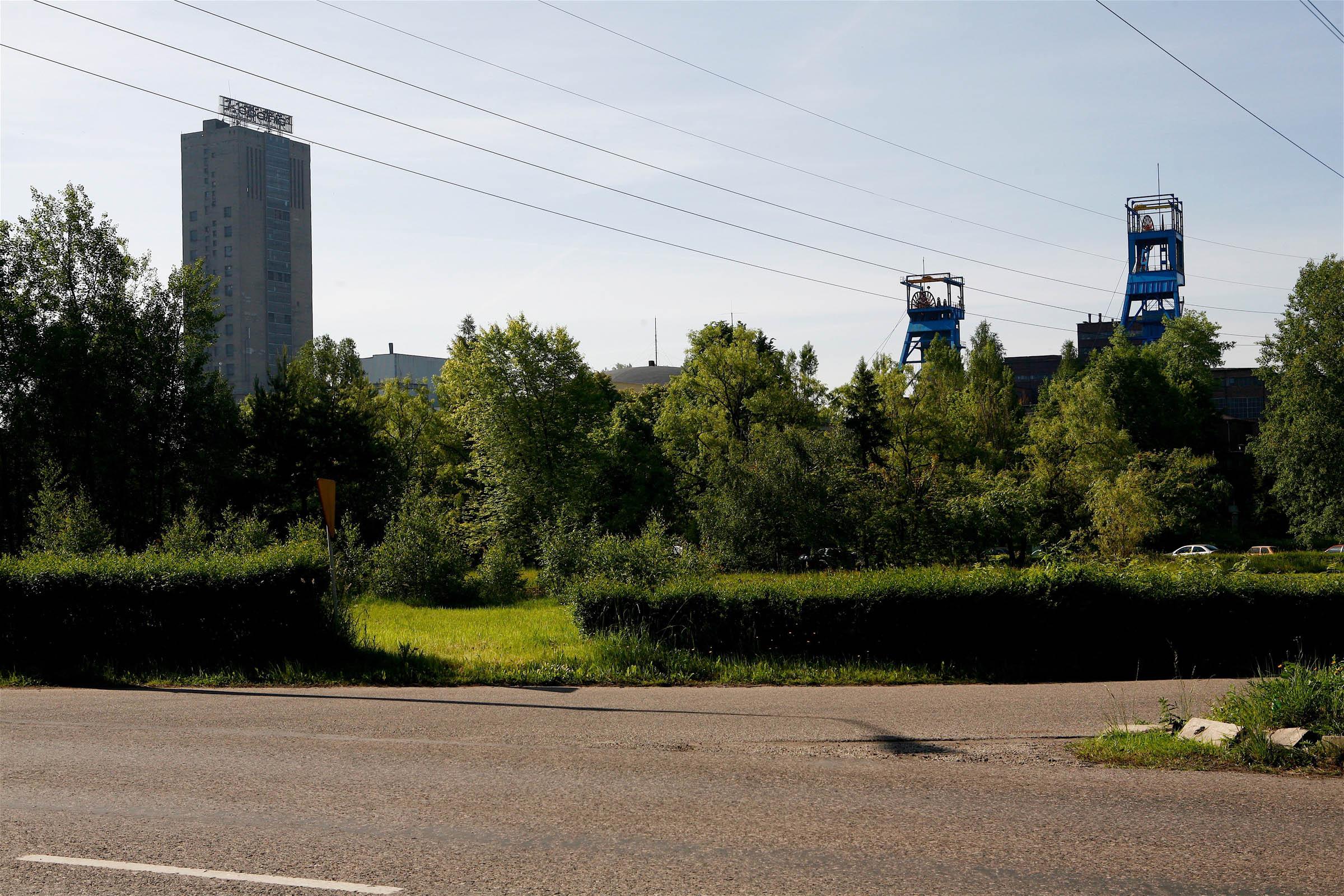 Wesola mine. 2006 T4 6824