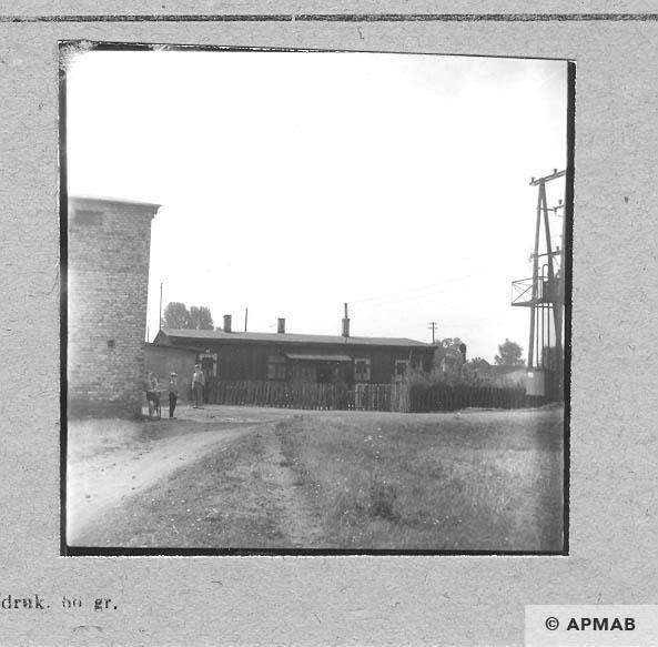Wooden barrack Blockführerstube. 1963 APMAB 5687