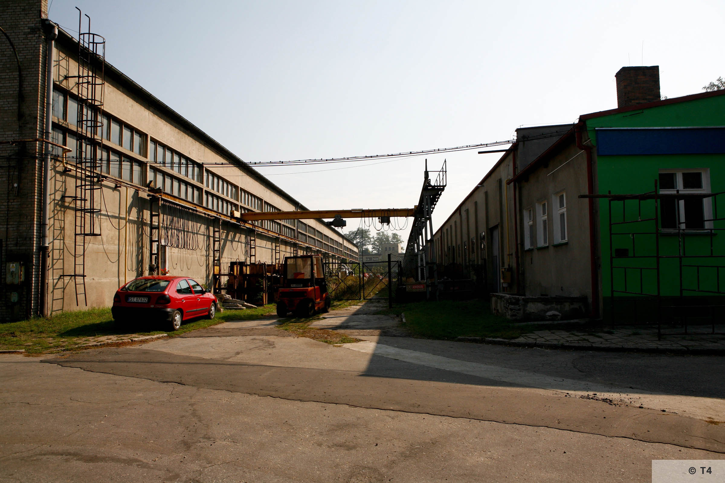 Workshops where prisoners worked. 2006 T4 1486