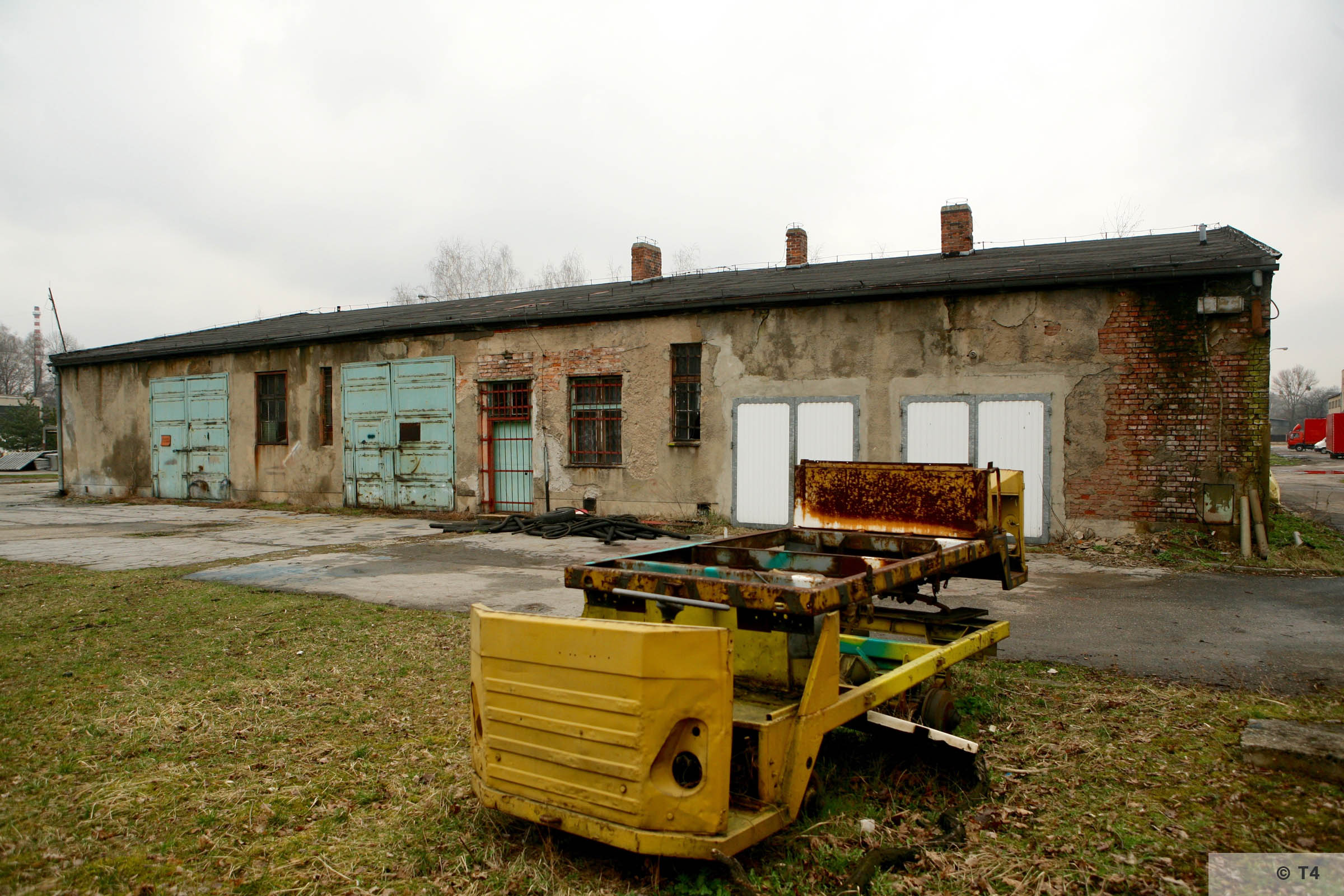 Workshops where prisoners worked. 2007 T4 4758