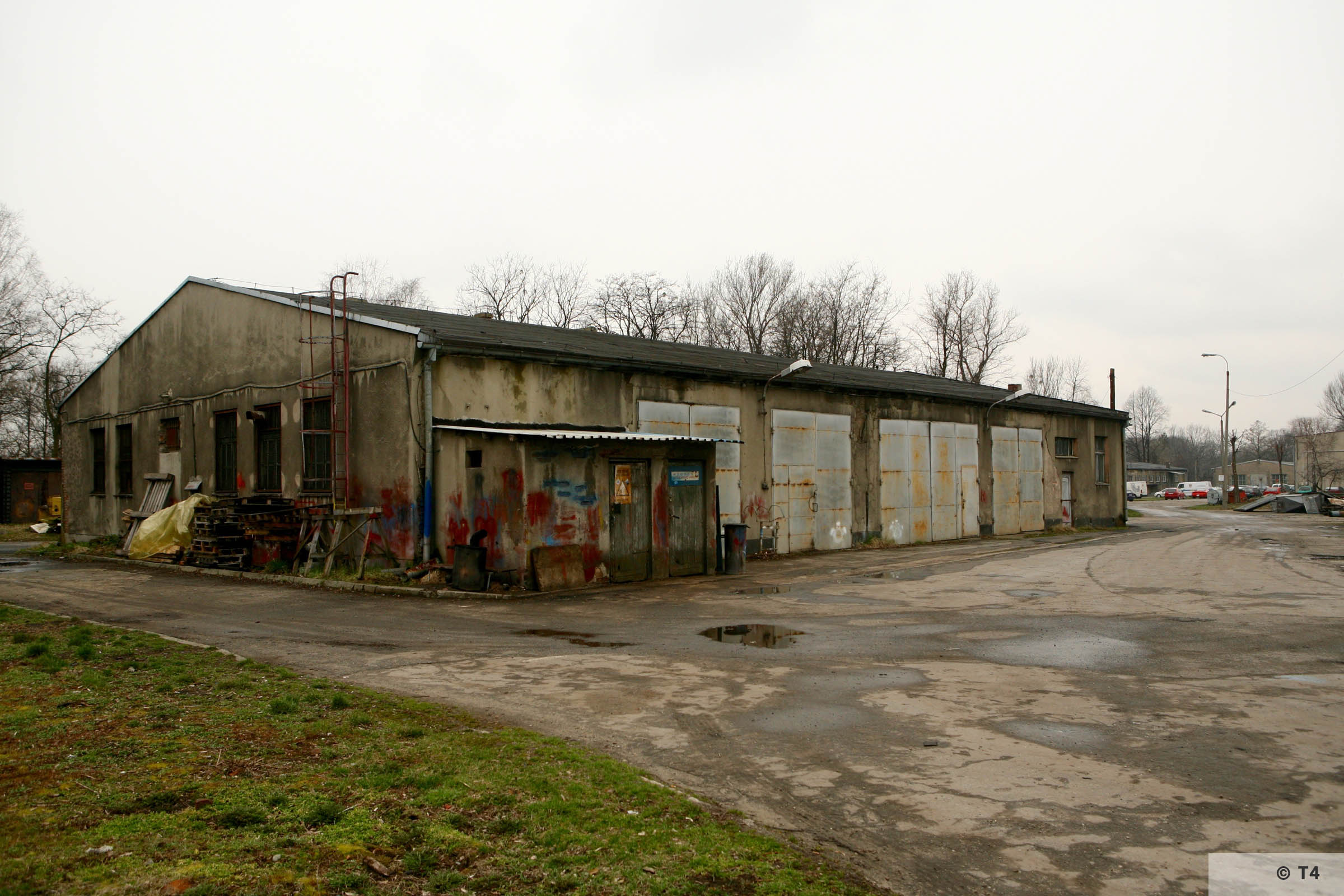 Workshops where prisoners worked. 2007 T4 4767