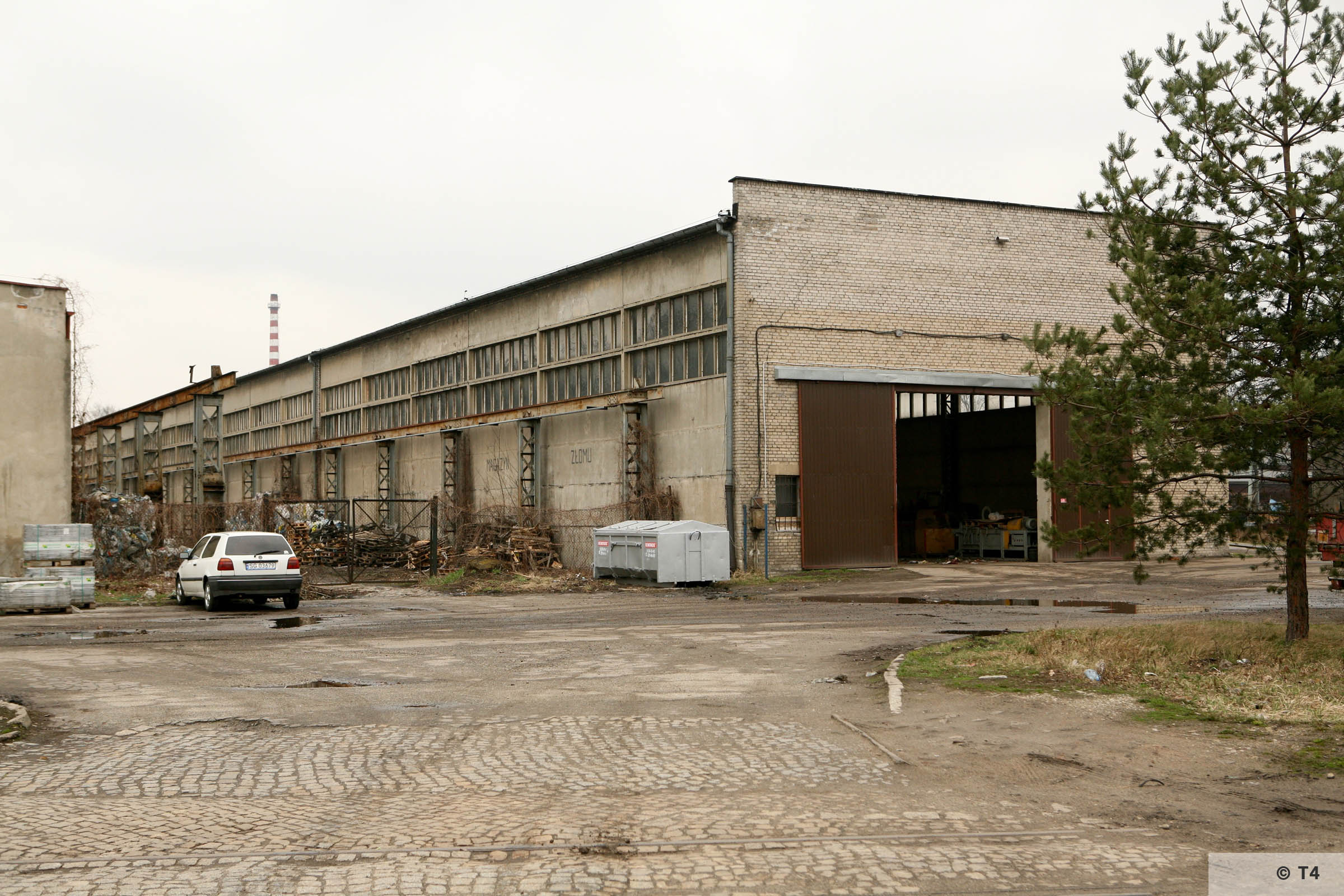 Workshops where prisoners worked. 2007 T4 4817