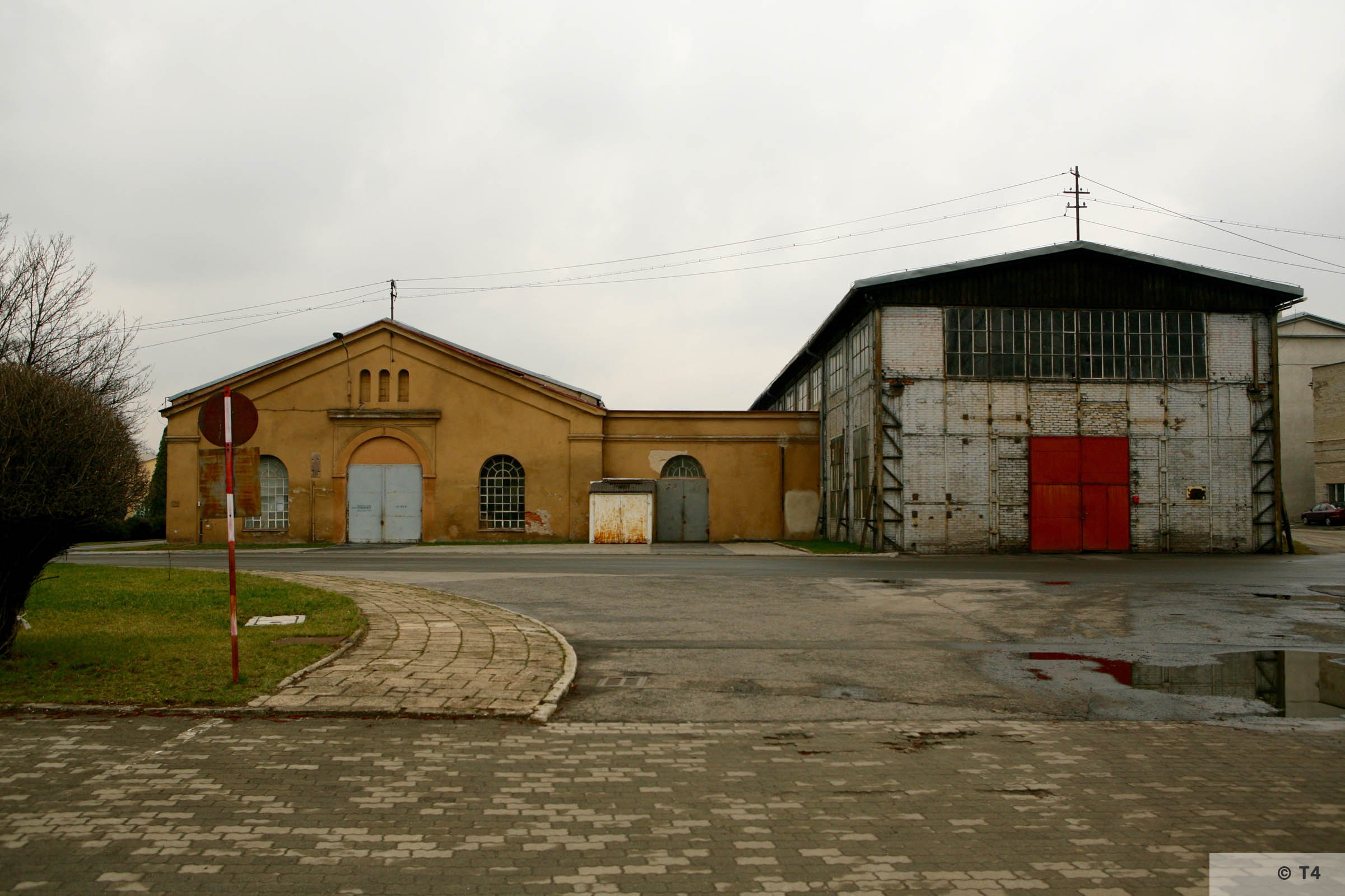 Workshops where prisoners worked. 2007 T4 4846