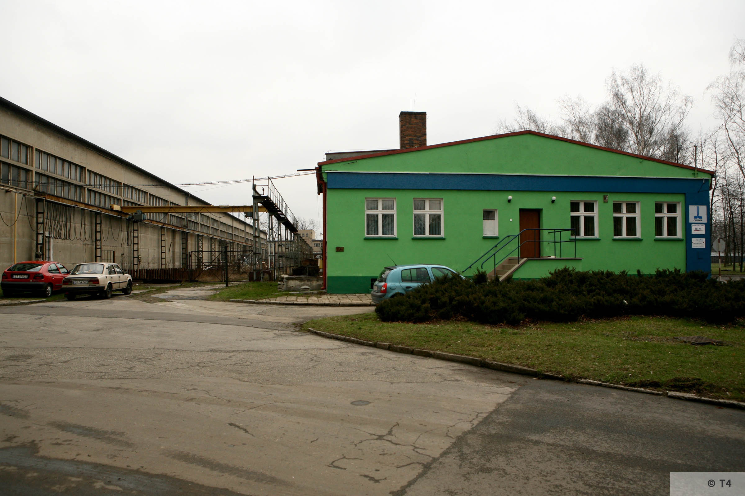 Workshops where prisoners worked. 2007 T4 4888