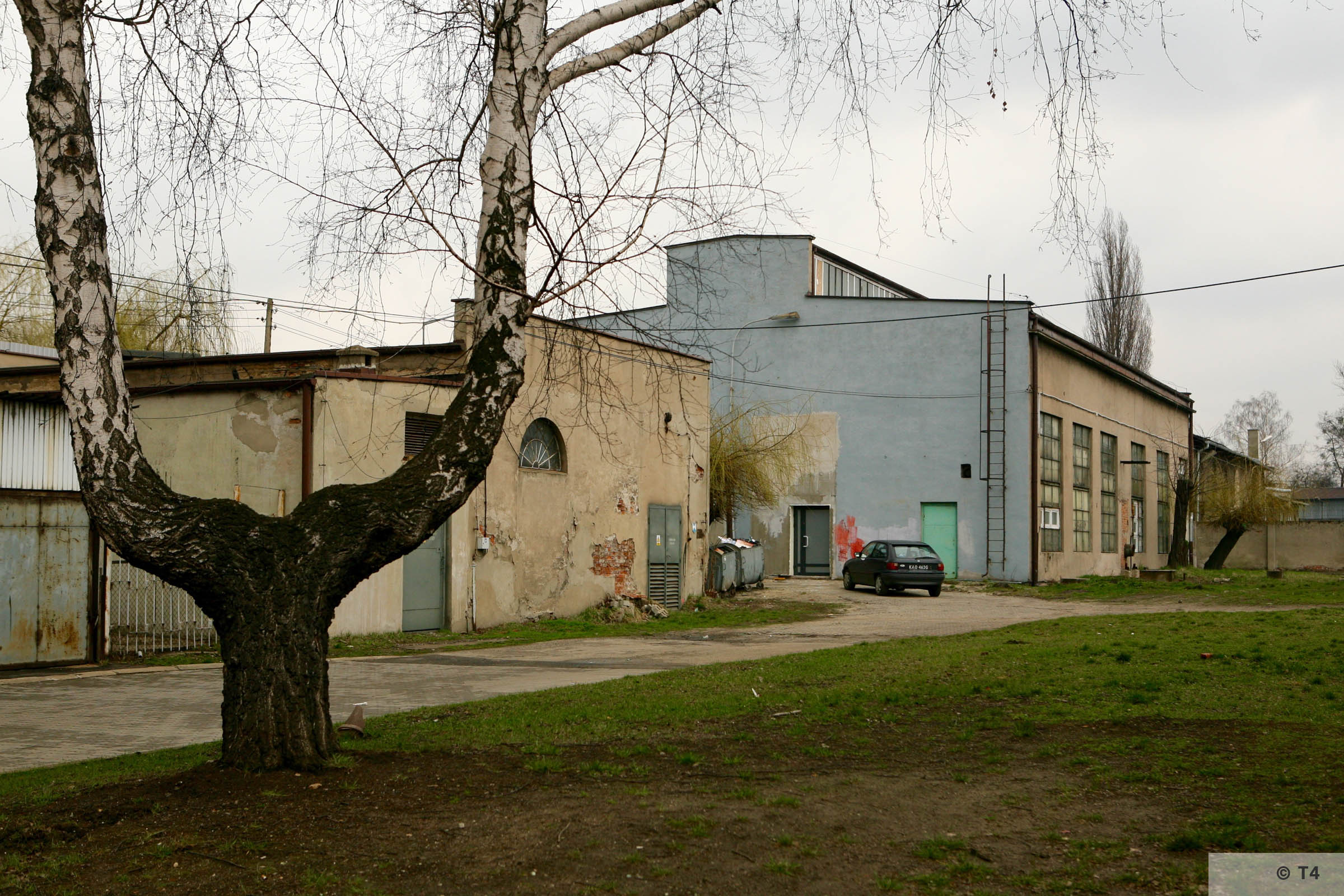 Workshops where prisoners worked. 2007 T4 4923