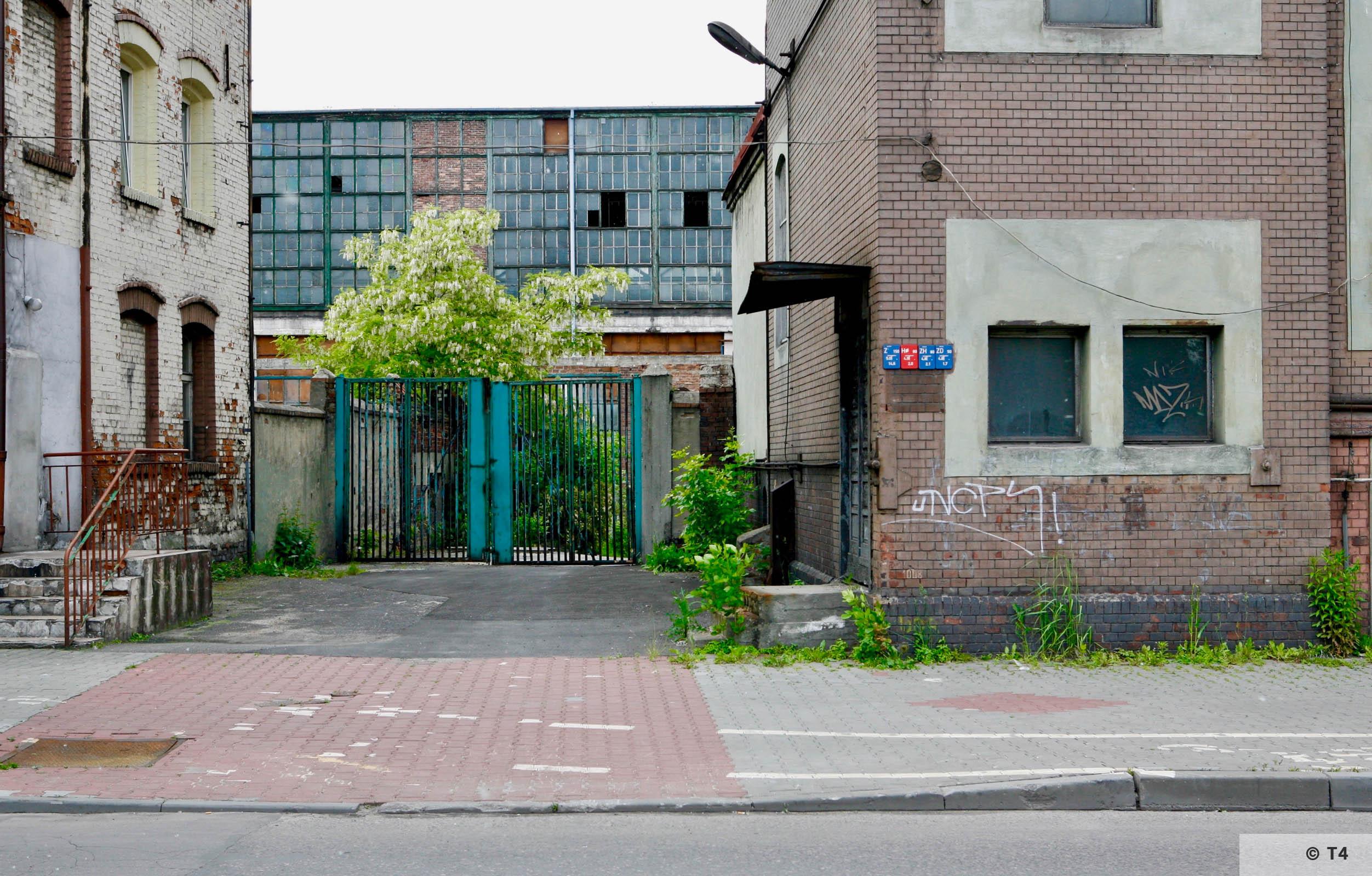 Zgoda steel plant. 2006 T4 6279