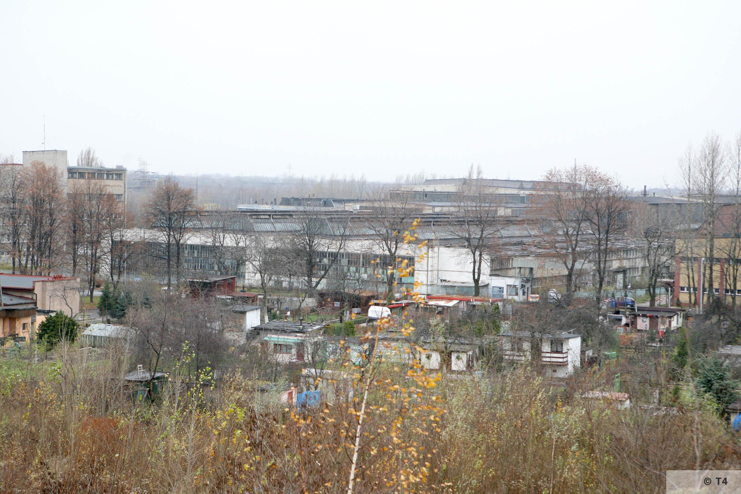 Zgoda steel plant. 2007 T4 3563