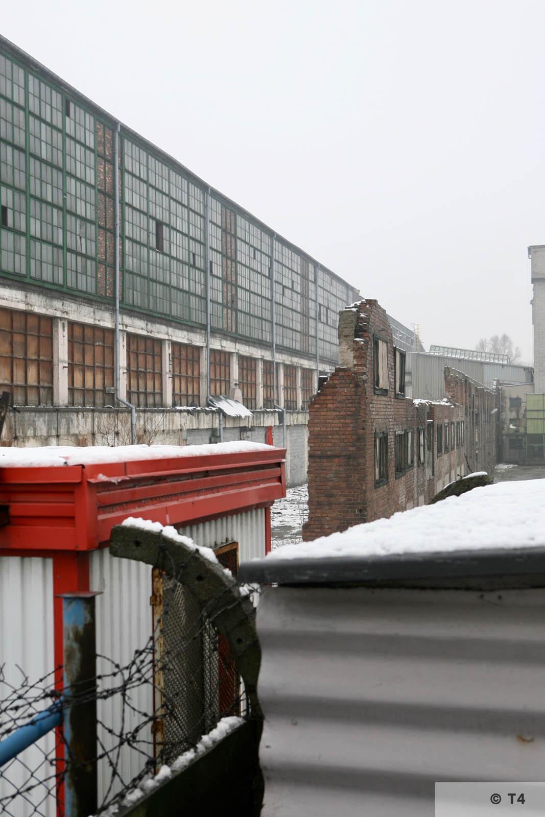 Zgoda steel plant. 2007 T4 5625