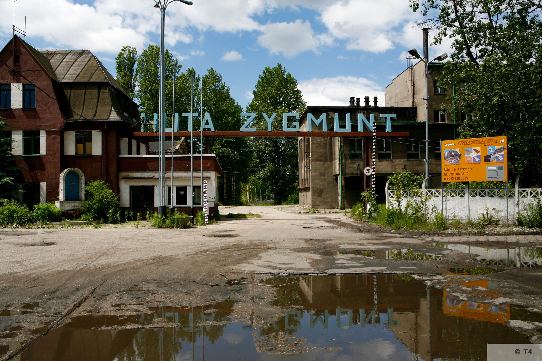 Zygmunt steel works. Main entrance. 2006 T4 6227