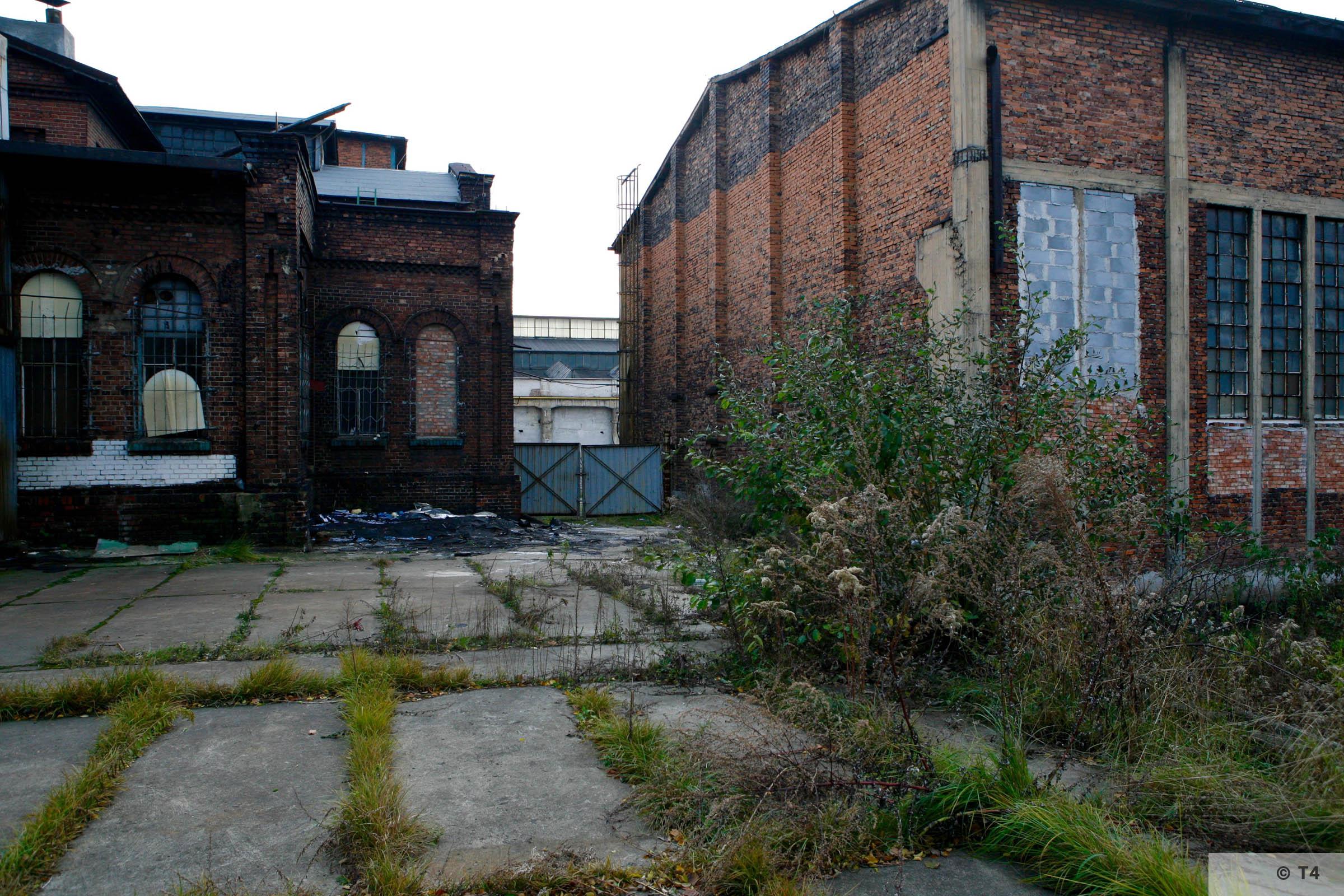 Zygmunt steel works. Production halls. 2006 T4 4751