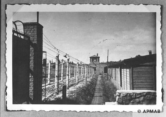 camp fence 13405 APMAB Yad Vashem